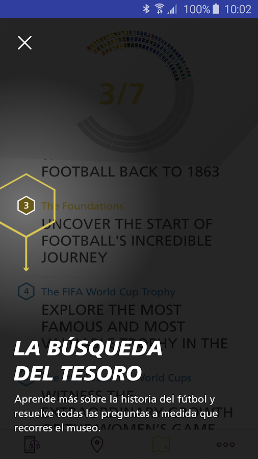 FIFA World Football Museum: captura de pantalla