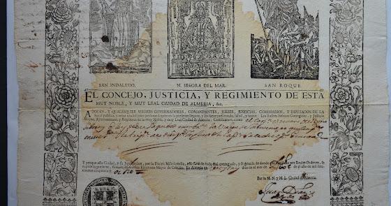 Chapuza grabada: La Virgen del Mar en las patentes de sanidad