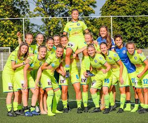Bizarre regel: Gentse vrouwen moeten het vanaf volgend seizoen noodgedwongen met twee ploegen minder doen