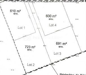 terrain à Vaudesincourt (51)