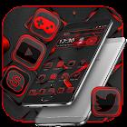 Black Red Neon Theme icon