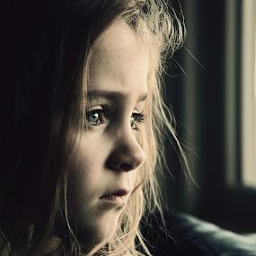 Missing you by Yelena Larson - Babies & Children Children Candids ( kids, people, portrait, emotion )