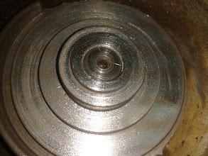 Photo: Ha quedado todo el extremo del motor limpio.