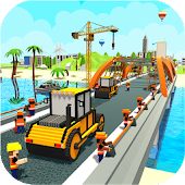 Bridge Constructor River Road: Unique Road Builder