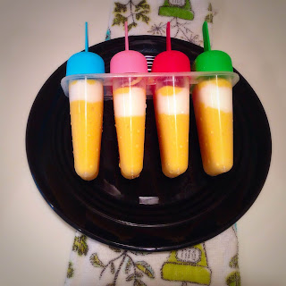 Creamy Homemade Mango PopSicles