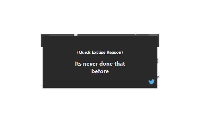 Dev Excuses