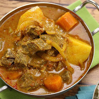 Chunky Beef & Potato Curry