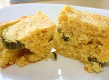Cornbread with Cheddar and Jalapenos