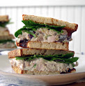 Walnut Chicken Salad Panini