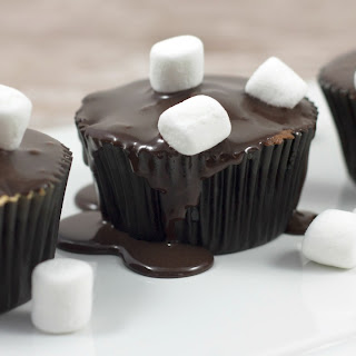 Baby It's Cold Outside Hot Chocolate Cupcakes