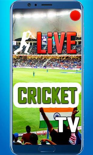 Cricket Live Tv And Score 1.0 screenshots 2