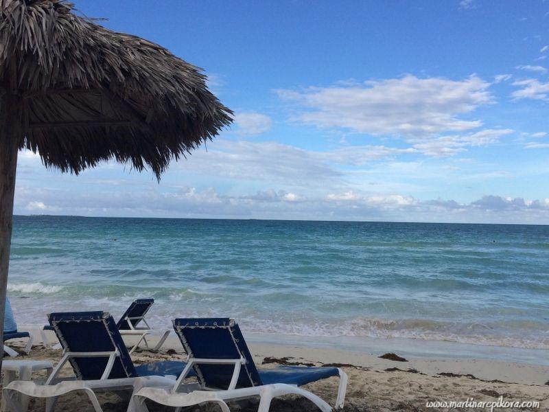 Beach at Varadero, Cuba