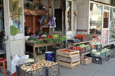 Wie man sieht ist die Qualität des Obsts und Gemüses über jeden Zweifel erhaben.