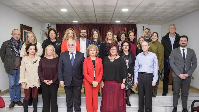 Nueva Junta Directiva del órgano colegiado con María del Mar García al frente.