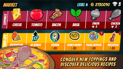Pizza Mania: Cheese Moon Chase 1.3 de.gamequotes.net 4