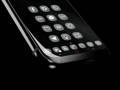 Crystal Glass HD - Icons pack Theme WALLPAPER full Screenshot