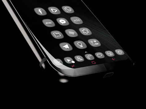 GlasS9      Theme Pack icons FullHD APK screenshot thumbnail 1