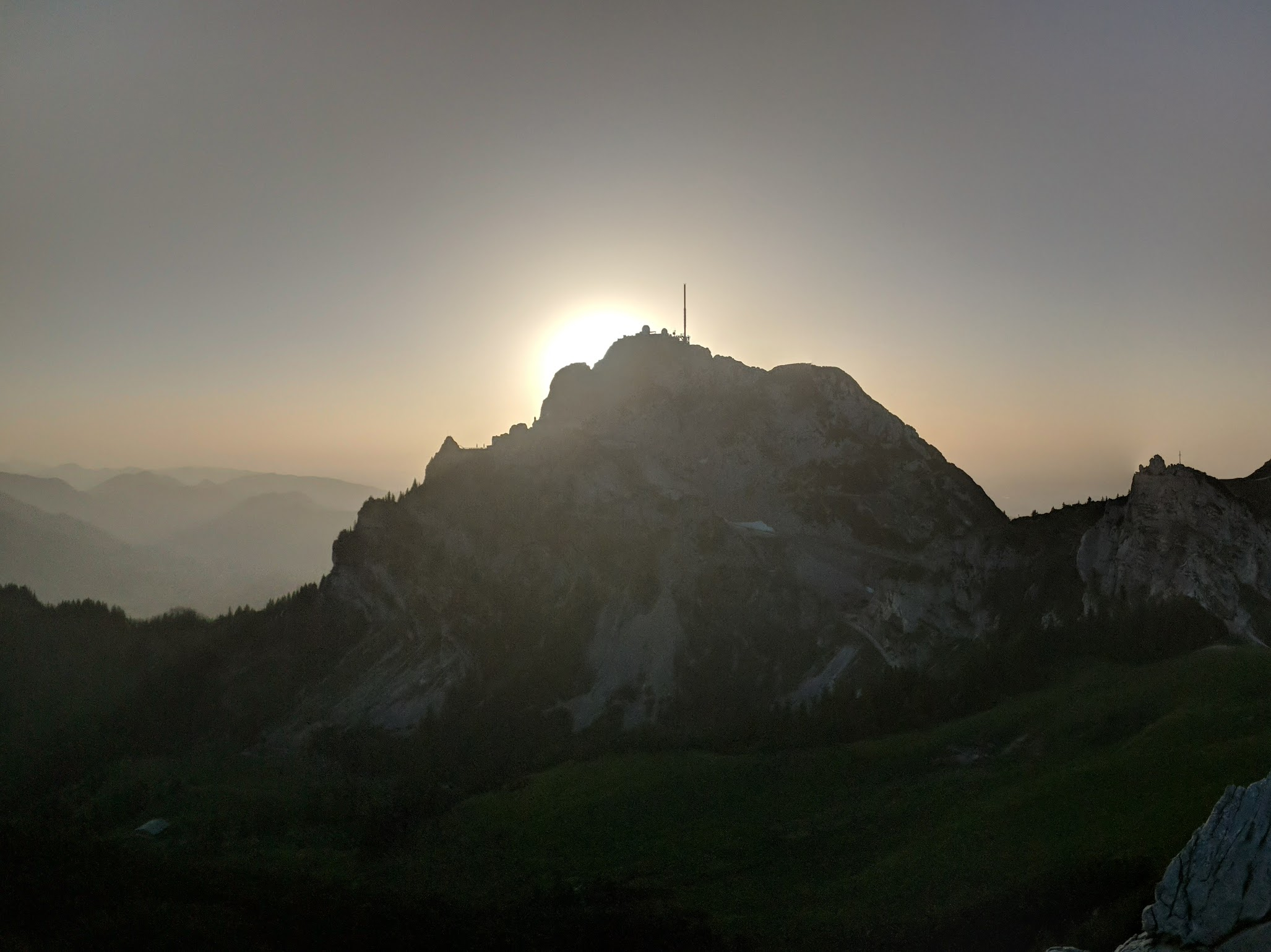 Wendelstein and Lacherspitze evening hike - Jun 19