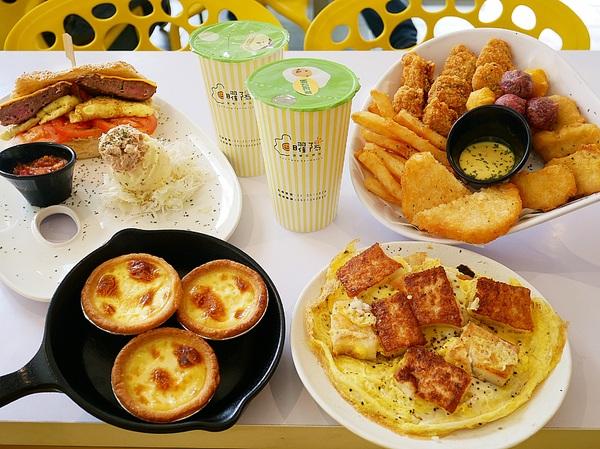 曜陽營養三明治-台南宵夜早午餐  不輸給永和豆漿的中西式餐飲部  餐點選擇多且份量大  早餐、宵夜來吃都能吃飽又吃巧