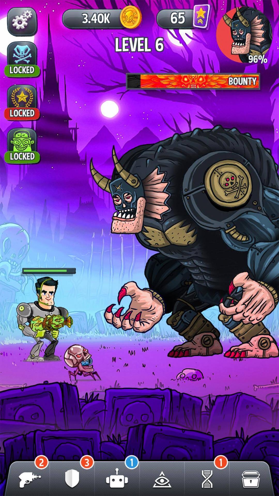 Tap Busters: Galaxy Heroes screenshot #6