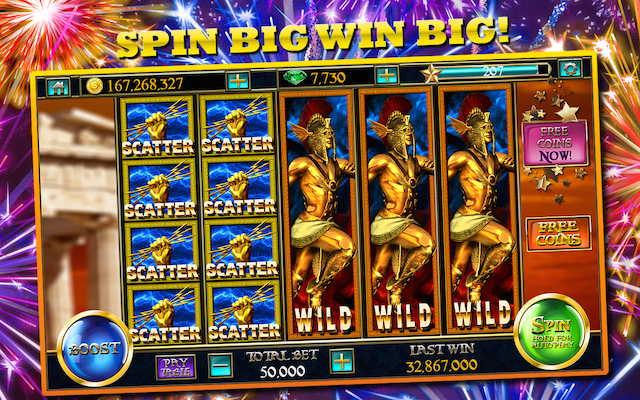 play zeus slots for fun