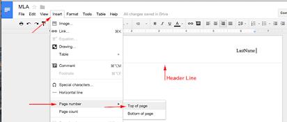 Mla Format Google Docs