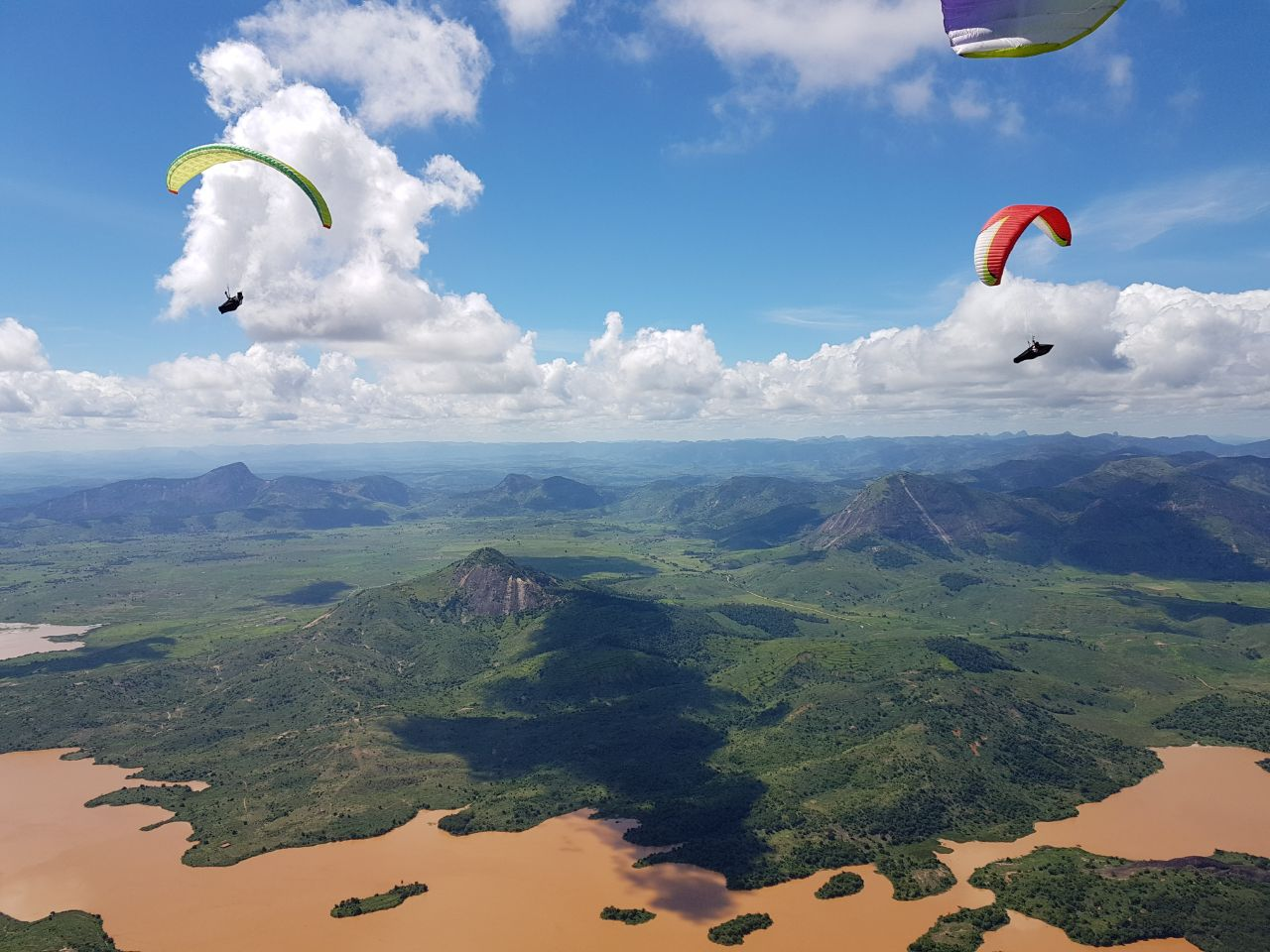 Brasil flying with FlySpain, winter paragliding tours