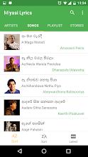 Miyasi Lyrics - Sinhala screenshot thumbnail