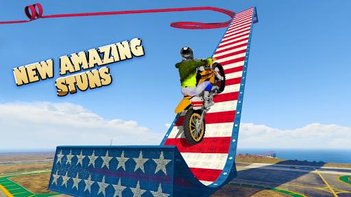 Stunt Bike Impossible Tracks-Race Moto Drive Game image | 2