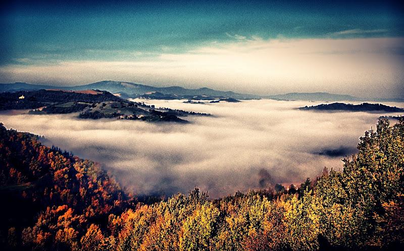 sopra le nuvole di bri