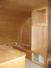 Photo: 1/8th in birch ceiling in placed.