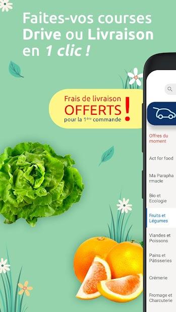 Carrefour : drive, livraison & carte de fidélité Android App Screenshot