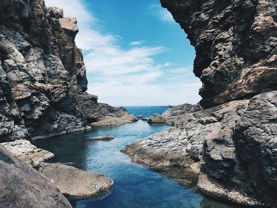 Làn nước trong xanh- phượt Đà Nẵng