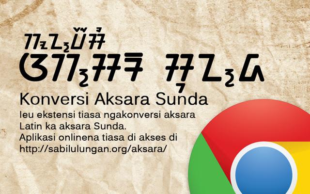 Konversi Aksara Sunda