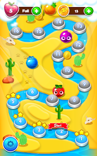 ? Desert Juice Match 3 Fruit Candy Puzzle 2018 ? - náhled