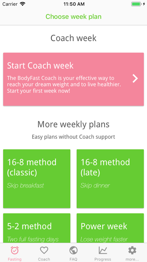 BodyFast Intermittent Fasting- screenshot