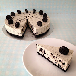 Oreo & White Chocolate Cheesecake