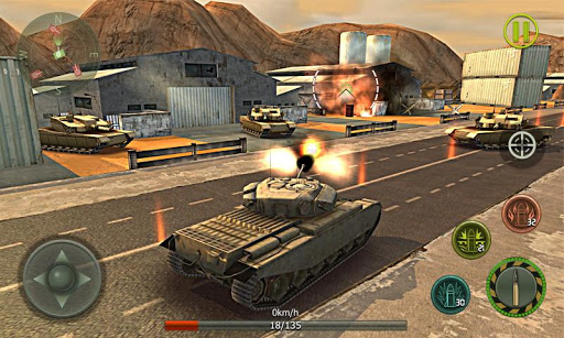Tank Strike 3D - War Machines 1.5 screenshots 4