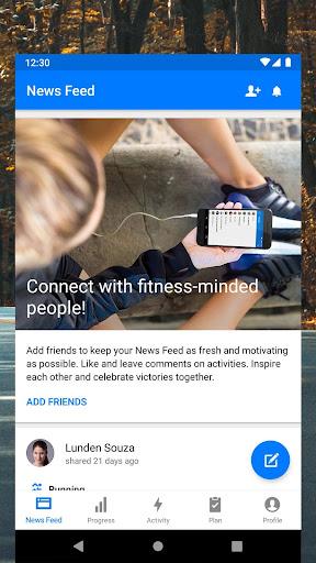 Runtastic Running App and Run Tracker screenshot