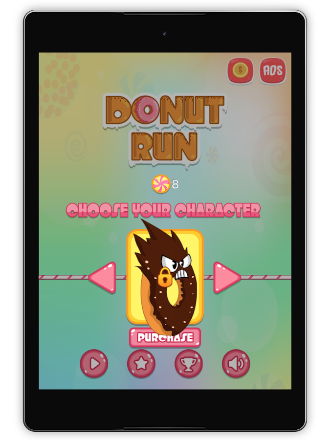 Donut Run- screenshot