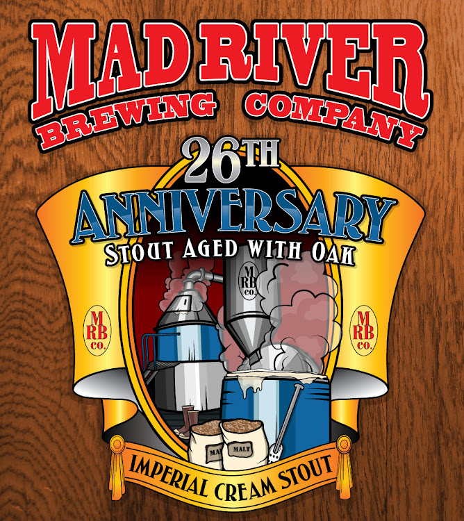 Logo of Mad River 26th Anniversary Imperial Cream Stout