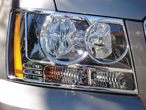 Photo: Close up of Putco Headlight trim from www.AvalanchAndAccessories.com Buy at http://www.AvalancheAndAccessories.com Buy other auto and truck accessories at: http://www.AutoAccessoriesNow.com