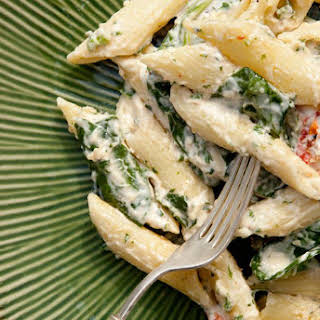 Low-Fat Spinach and Ricotta Pasta.