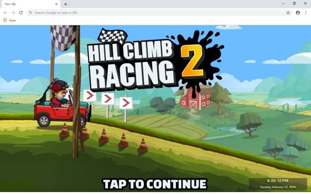 Hill Climb Racing 2 New Tab Theme