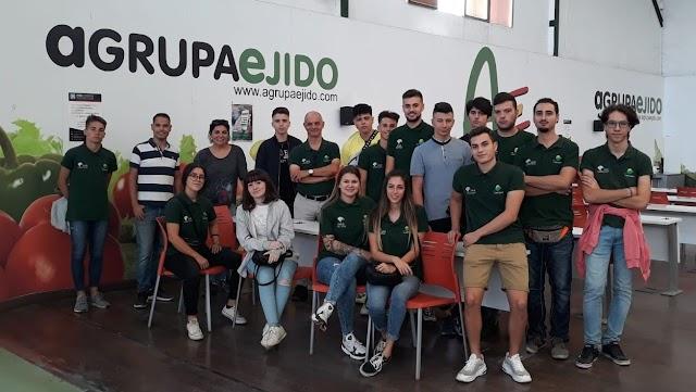 Visita técnica a Agrupaejido de los alumnos de Producción agroecológica.