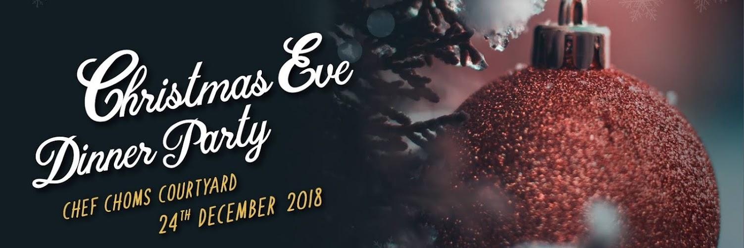 CHRISTMAS EVE DINNER PARTY AT TONGSAI BAY SAMUI