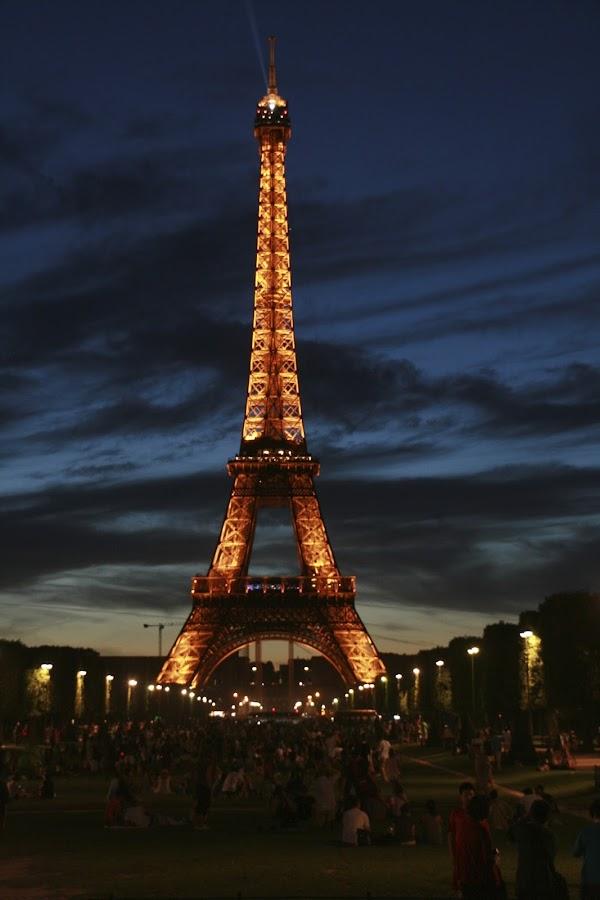 by Styron Powers - Travel Locations Landmarks ( paris, tower, eiffel )