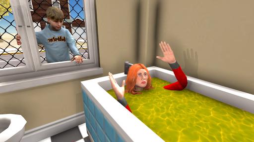 Hello Granny Scary Teacher apktram screenshots 3
