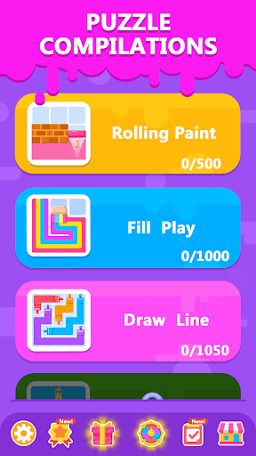 Line Puzzledom - Puzzle Game Collection apktram screenshots 5