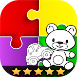 Puzzle Game For Kids Icon
